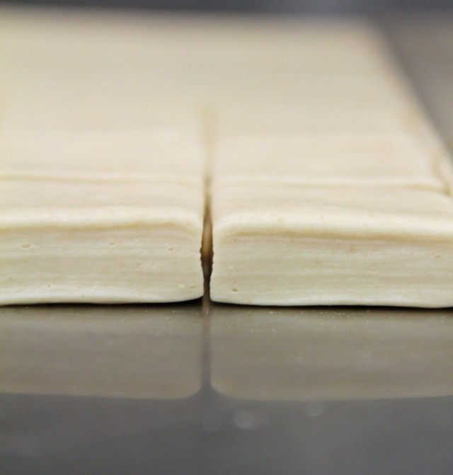 Lamination - pain au lait, May 2014